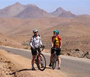 Sarah and Jen the Anti Atlas