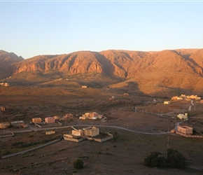 Sunrise from Tizourgane Kasbah
