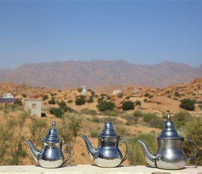 Moroccan Teapots at Painted Rocks