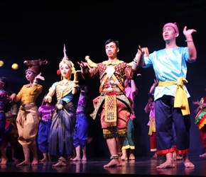 Cambodian Living Arts show