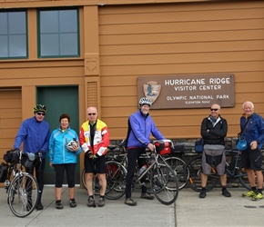 All at the top of Hurricane Ridge