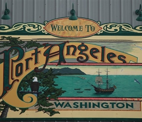 Mural at Port Angeles