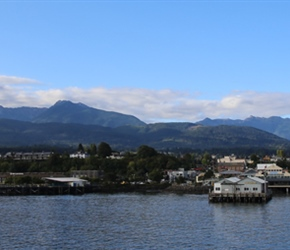 Port Angeles from ferry