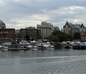 Victoria from ferry