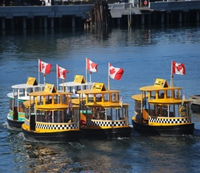 Water Taxis in Victoria Harbour