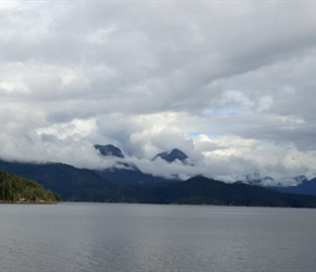 Mountains from ferry
