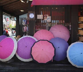 Umbrellas at Yufuin