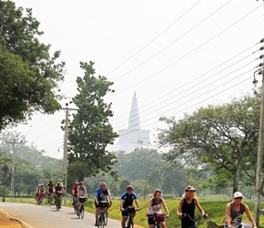 Cycling out of Anuradhapura