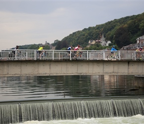 Crossing the Meuse
