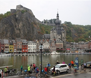 Leaving Dinant