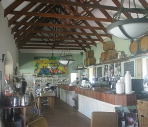Cafe at Zorgvliet Winery