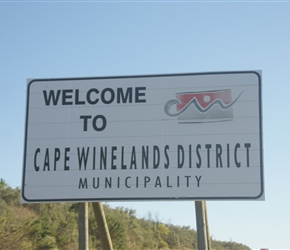 Welcome to the Winelands