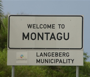 Welcome to Montagu