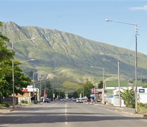 Swellendam looking east