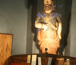 King Cedric at Bredasdorp Museum