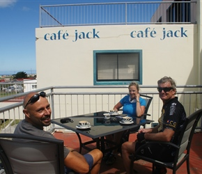 Dave, Beth and Steve at Cafe Jack