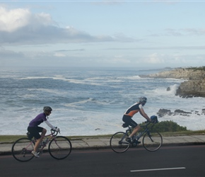 Cherry and Tim leave Hermanus