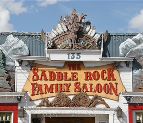 Saloon Sign in Jackson Hole