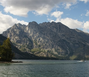 Tetons and Jenny Lake