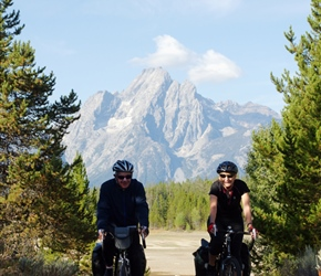Ken, Diane and Tetons