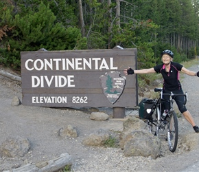 Diane makes it over the Continental Divide