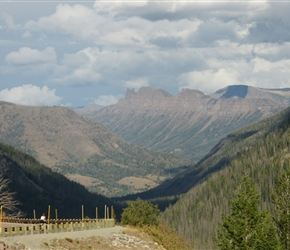 Sylvan Pass was the final push to take us out of the East entrance to Yellowstone