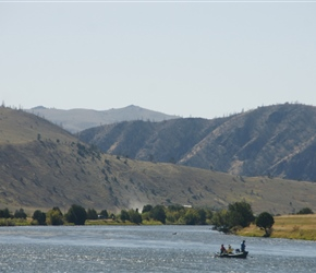 Fishing on the Madison River