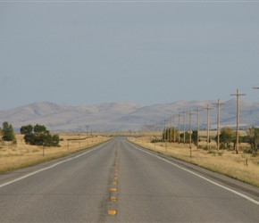 South along highway 287