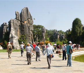 Kunming Stone Forest, Shilin in Chinese, is a spectacular set of limestone groups and the representative of south China's karst landscape. Known since the Ming Dynasty (1368-1644) as the 'First Wonder of the World', it is one of the most important at