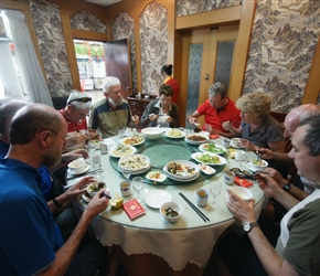 After the transfer we had lunch at Nanhua before setting out