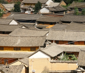 I thought the shapes and colours of the roofs were really interesting