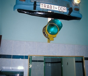 Trabant in the bathroom