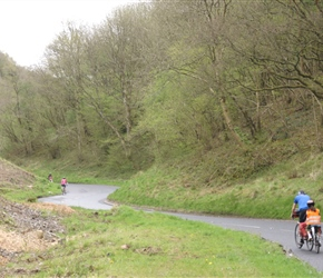 The Klemperers climbing Burrington Coombe