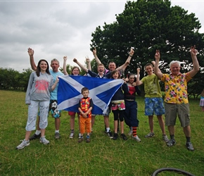 Introducing the SCOTS. Hannah, John, Sarah, Finlay, Jonathan, Andy, Flora, Steph, Sam and Malcolm. I'm glad they brought the shorts
