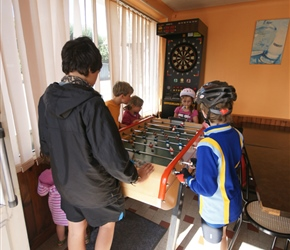 Table football at Lozon