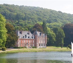 John Chateau and River Meuse