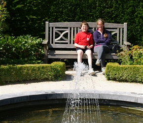 James and Sarah at Alnwick Gardens