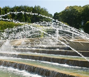 Fountains at Alnwick Gardens