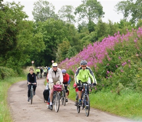 Anne, Douglas and Graham leave Ellingham