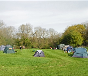 Campsite at Thistledown