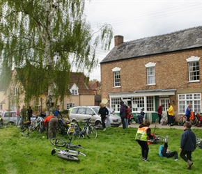 Teastop at Frampton on Severn