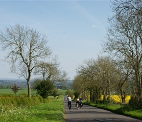 Descending near Chipping Norton