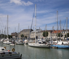 Mortagne harbour