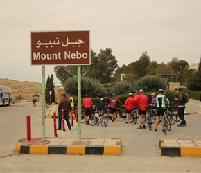 Arrival at Mount Nebo