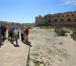 Mahmoud tells us all about the castle opposite the palace area, that was once 6 stories high
