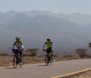 Sue and John on the final flatter section