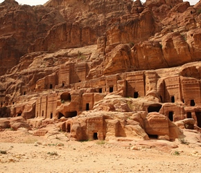 Petra tombs, though is anyone really sure