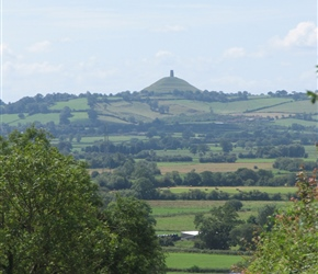 Heading to Glastonbury Tor from Wells
