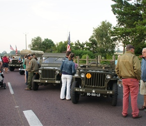 American Jeeps at the 70th Anniversary