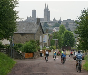 Descending to Coutances